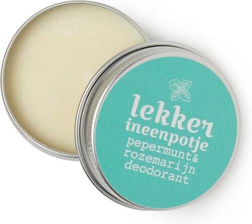 Lekker in een potje deodorant